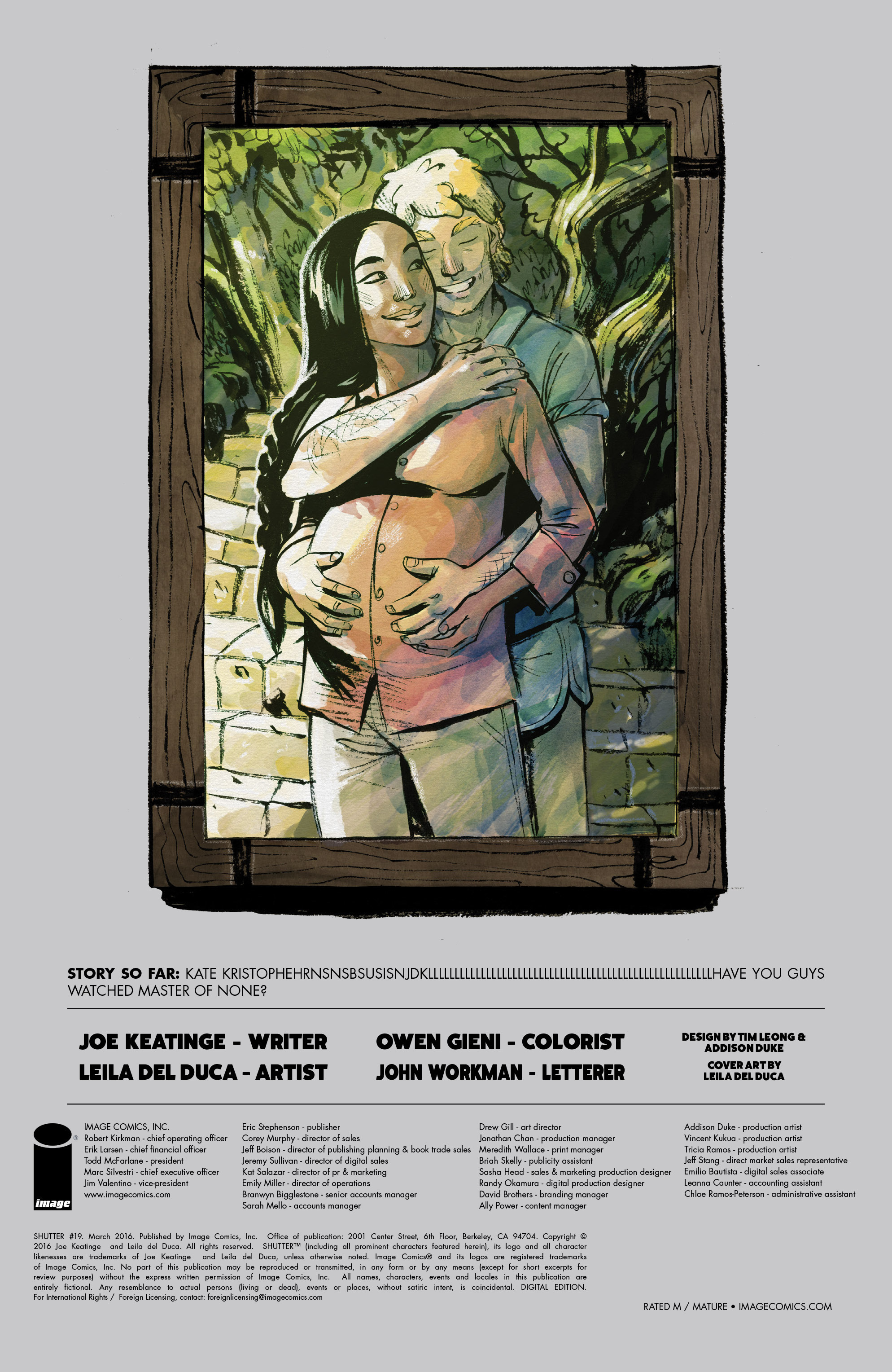 Read online Shutter comic -  Issue #19 - 32