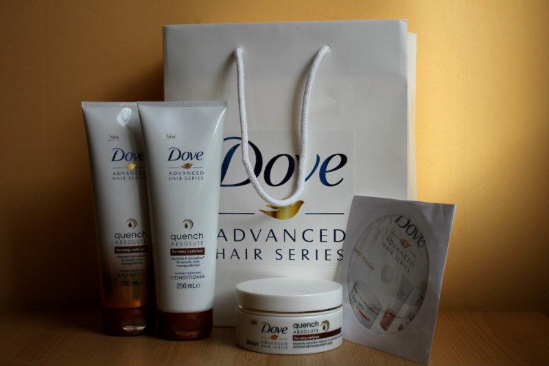 SÚŤAŽ o celý nový vlasový rad Dove Advanced Hair Series Quench Absolute