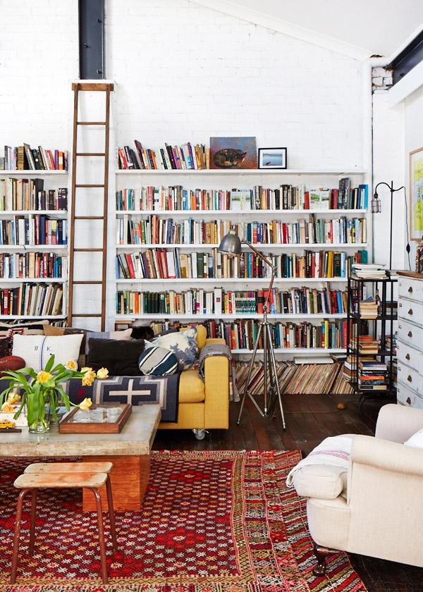 Hogares Singulares - De taller a casa - La librería