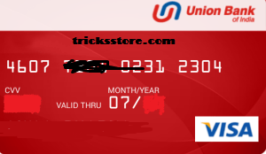 union bank virtual credit card number