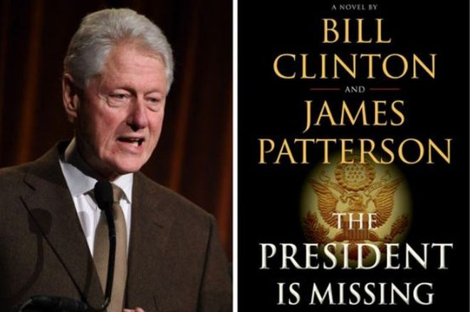 Bill Clinton pens first thriller novel with James Patterson