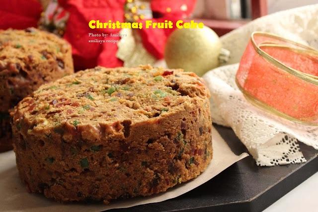 圣诞干果蛋糕