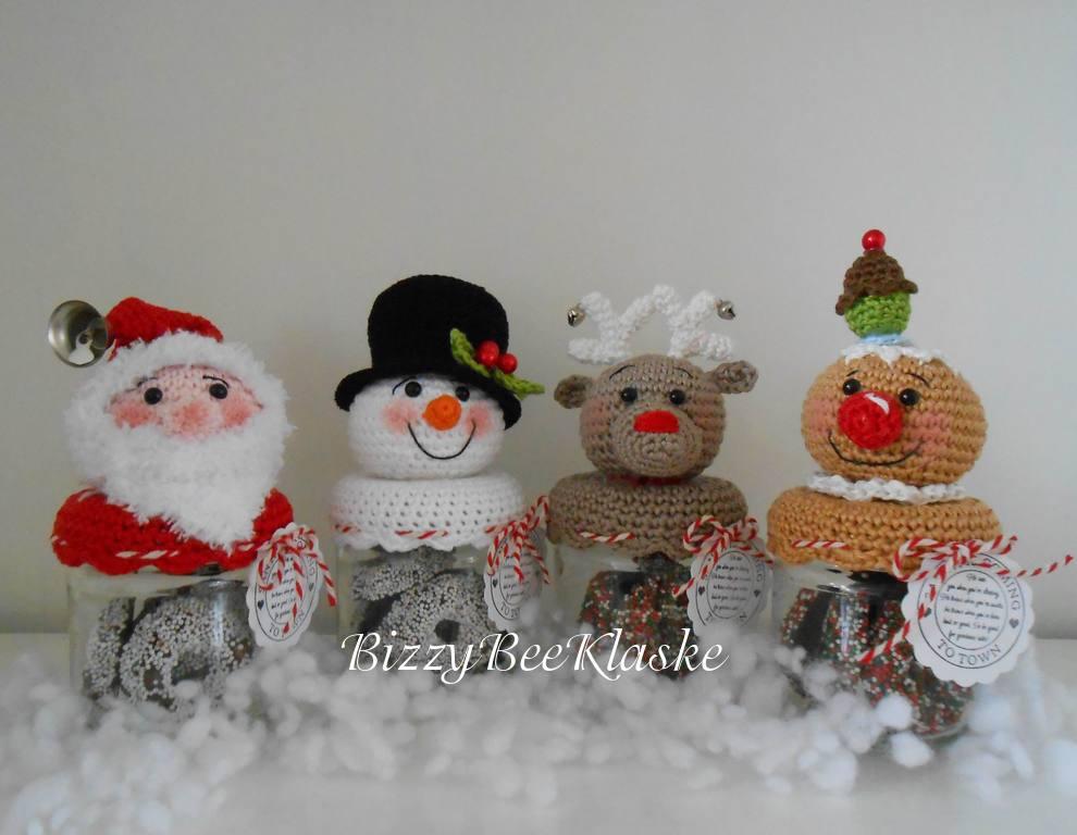 Bizzy Bee Klaske Kerstpotjes En Lichtbollen