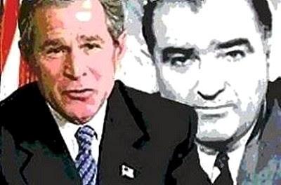 Photo: Bush and McCarthy