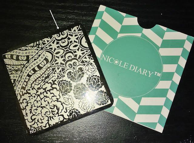 Placa Nicole Diary