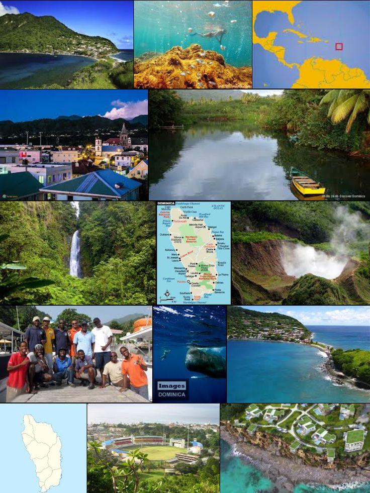 Dominica | Mapas Geográficos da Dominica