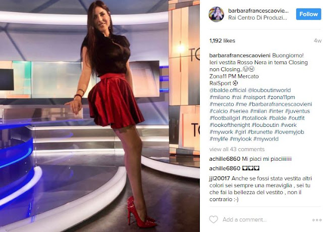 This Italian News Presenter Accidentally Flashes Her Underwear On Live TV!