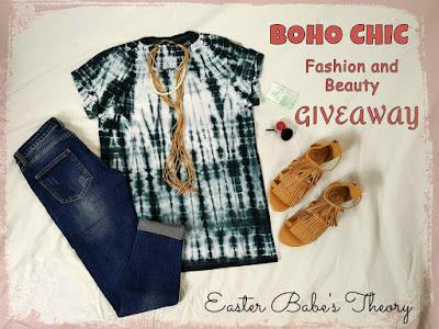 Tie Dye Boho Chic Trendy Top Genuine Leather Fringe Sandals Organic Lip Gel Lipstick by KK Fashions