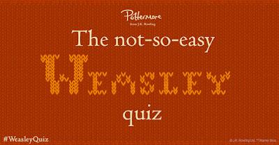 Il non-così-facile quiz sui Weasley