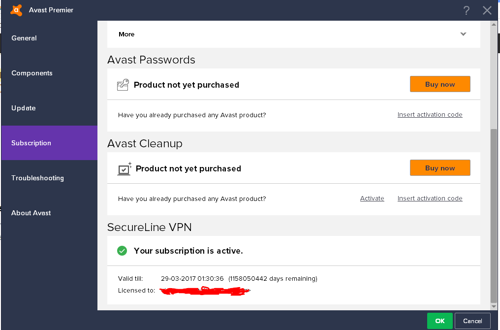 avast registration key 2015 facebook