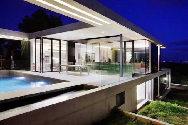 Diseno de casa por sct estudio de arquitectura espana - Casas minimalistas en espana ...