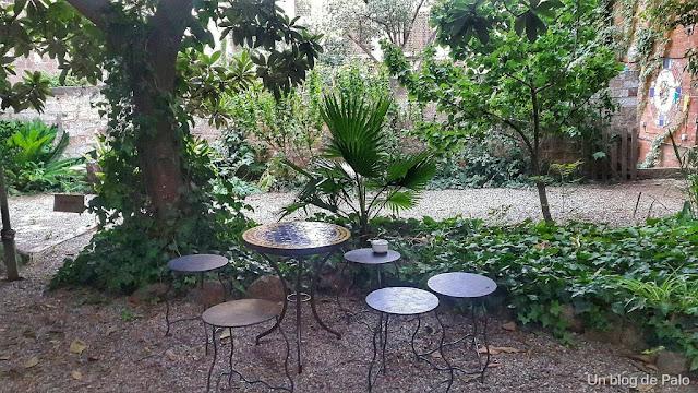 Jardín Olokuti Barcelona vista