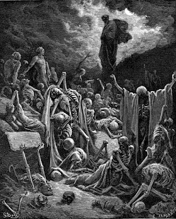 6. Ezekiel's Vision of the Valley of the Dry Bones