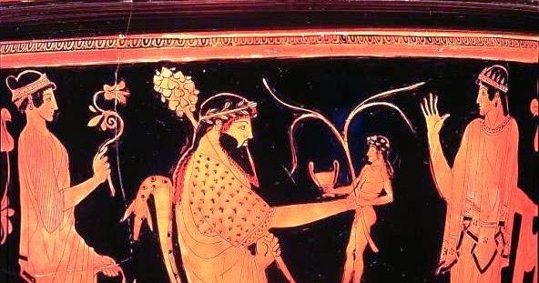 Imágenes Comentadas del Ciclo Heroico (V). El Nacimiento de Dionisos