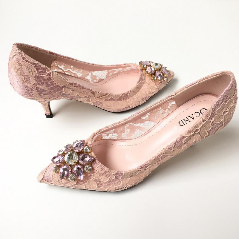 Blush Wedding Shoes: Bridal Fashion