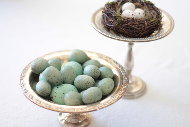 spring-tour-nests-eggs silver compote dish