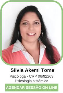 Psicóloga On Line Sílvia Akemi Tome