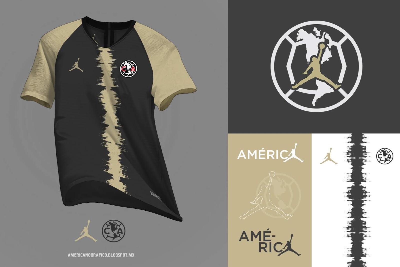 El diseño de Americanográfico con Air Jordan