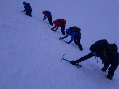 winter mountaineering Glencoe
