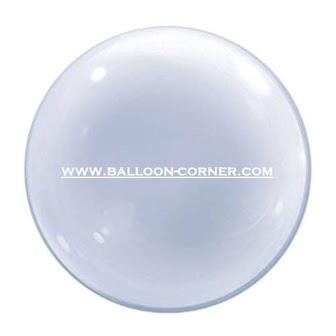 Qualatex 24 Inch Deco Bubble Balloon / Balon Transparan / Balon Bubble 24 Inchi Qualatex