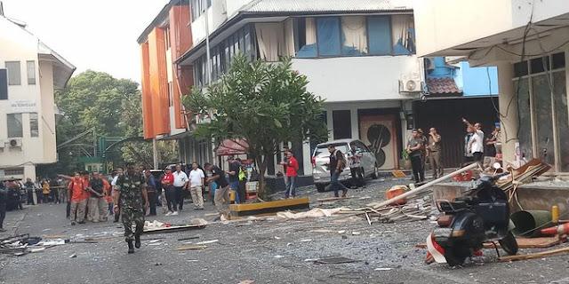 Polisi periksa 5 saksi terkait ledakan di ruko Grand Wijaya Center