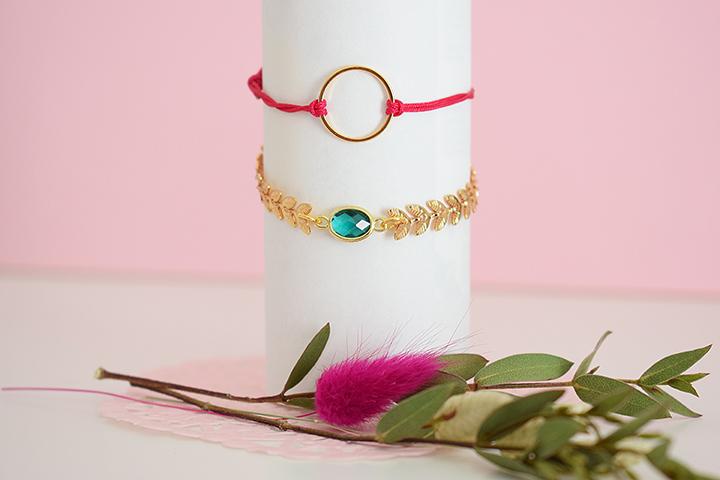 diy facile bijoux précieux dorés or fin