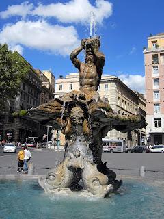 Bernini's Fontana del Tritone
