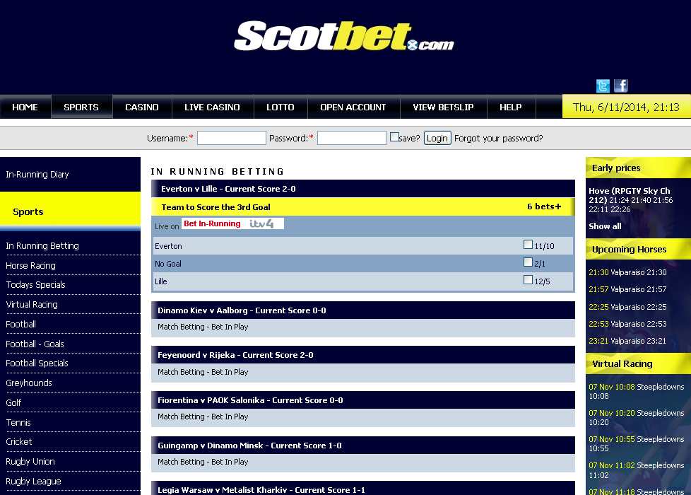 Scotbet Screen