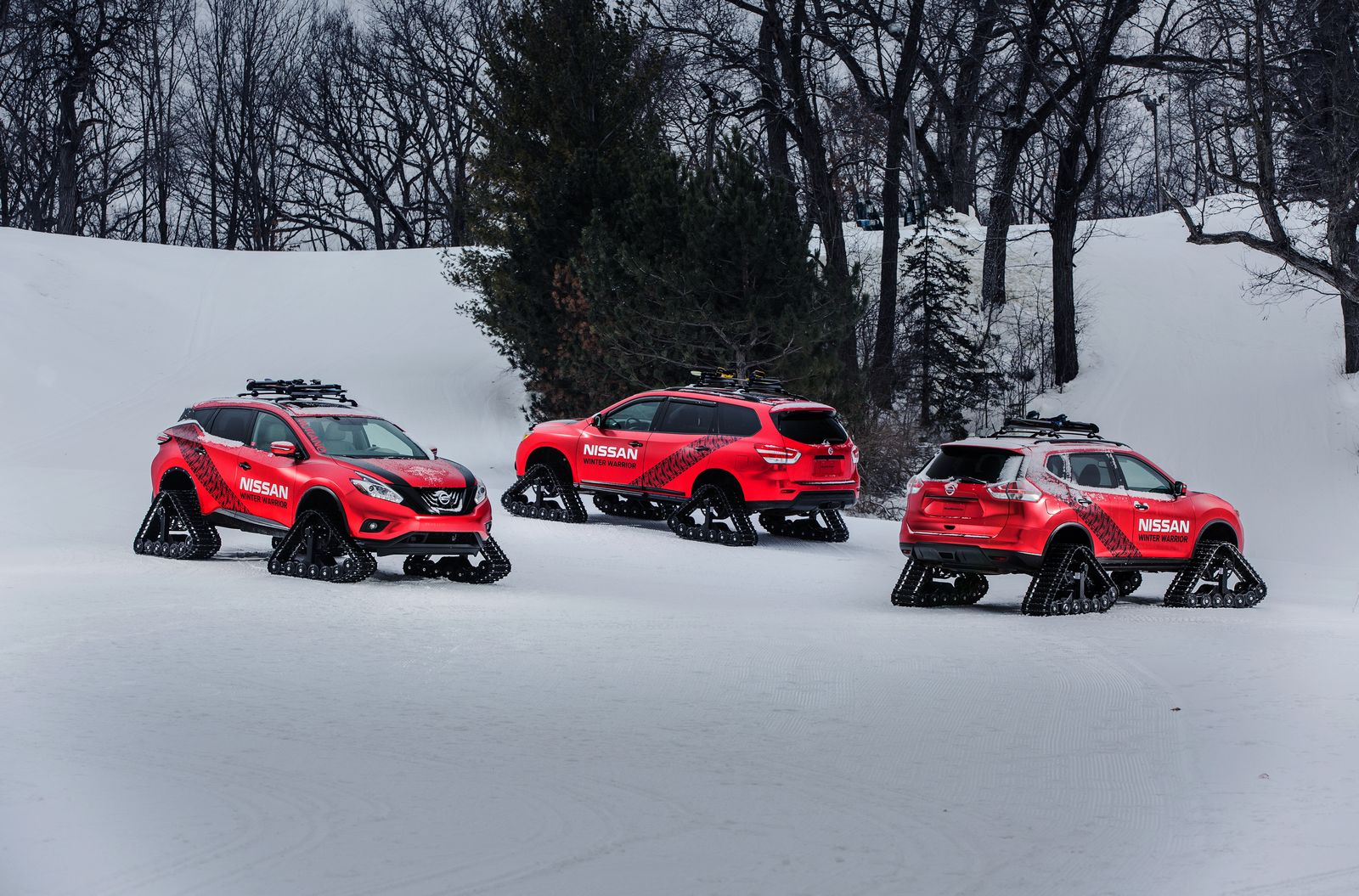 Nissan Pathfinder, Murano And Rogue Get Extreme Snow ...