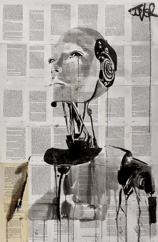28-Tomorrow-Loui-Jover-Drawings-on-Book-Pages-www-designstack-co