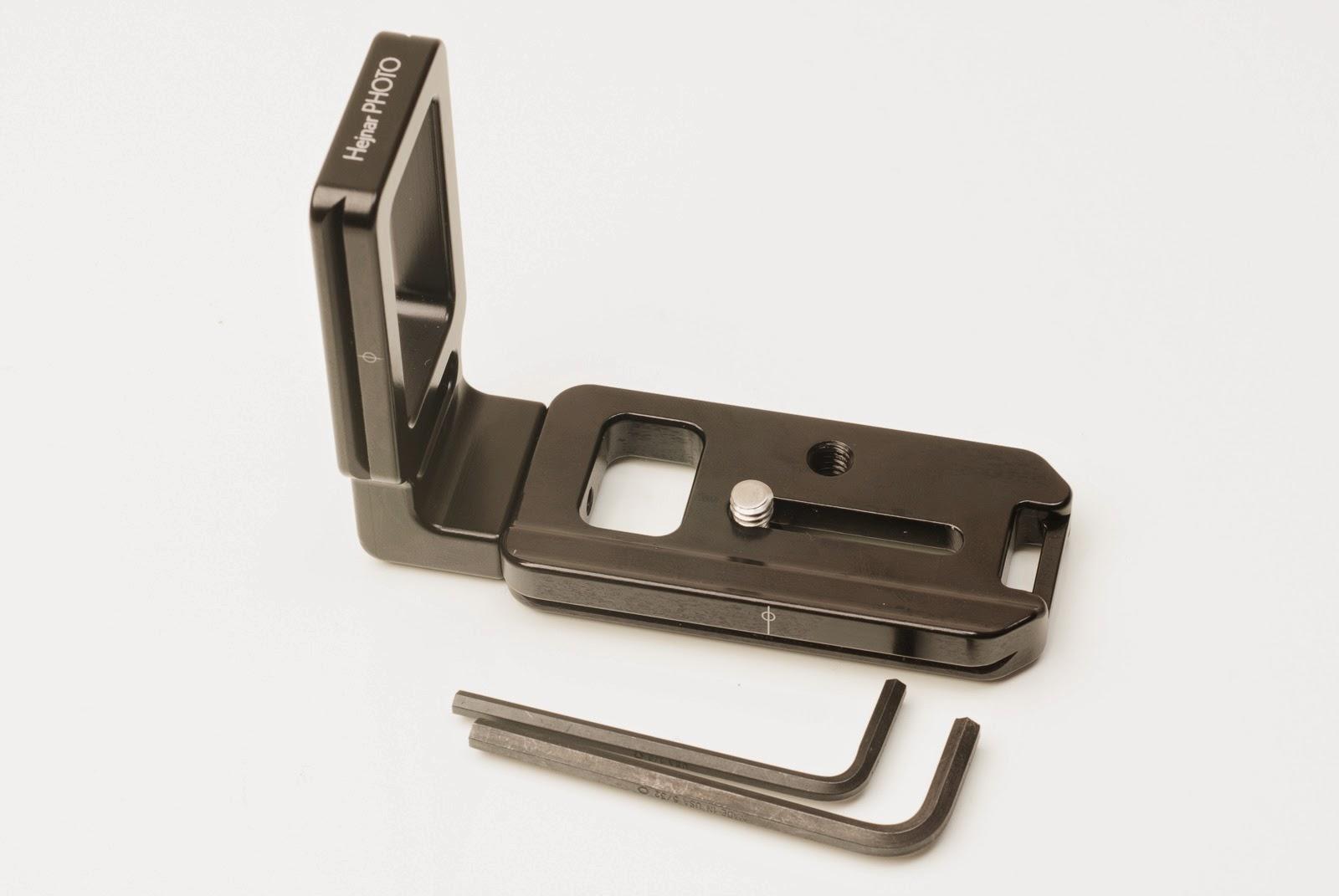 Hejnar PHOTO ND7100 Dedicated L bracket + tools