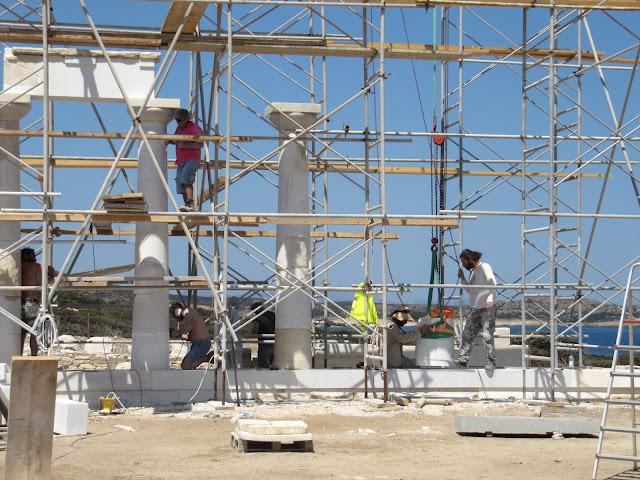 Despotiko Marble Restoration Work