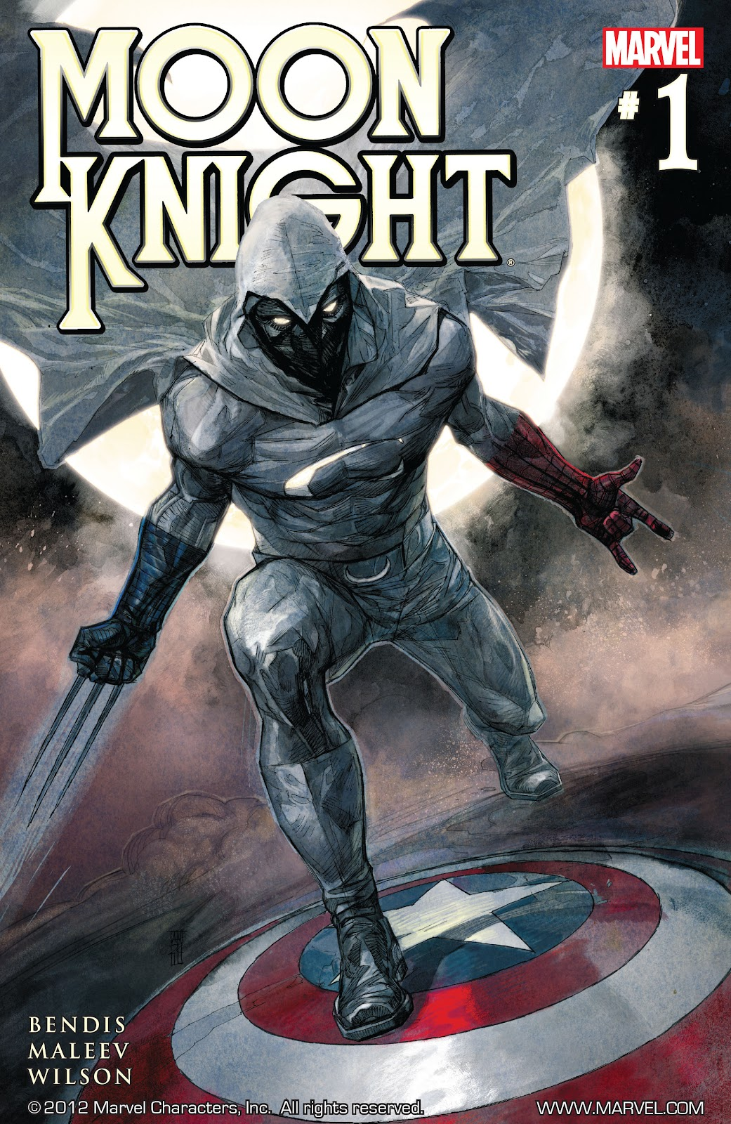 Moon Knight (2011) issue 1 - Page 1
