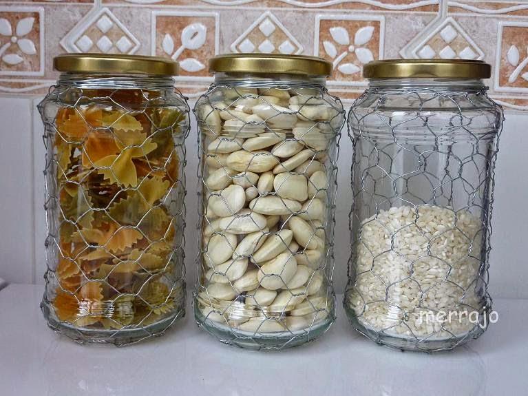Cmo reciclar tarros de cristal Manualidades