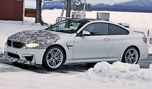 2018 BMW M4 Facelift CS Special Edition Spied, Shows Aggressive Aerodynamics