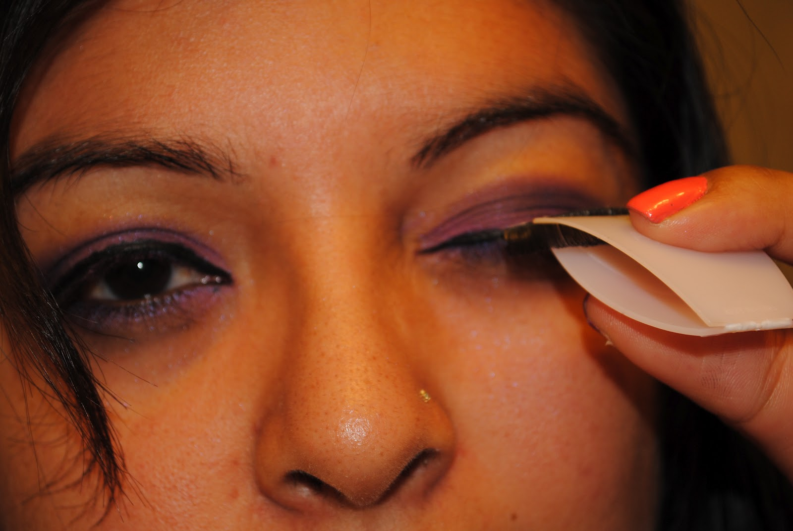 You Had Me at Makeup: How to Apply False EyeLashes
