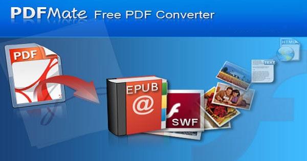 برنامج PDFMate لتحويل ملفات pdf الى word