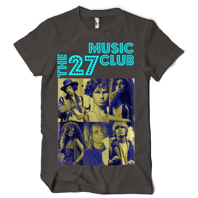 music club tshirt