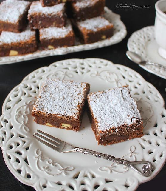 Potrójnie Czekoladowe Brownies Nigelli Lawson - Przepis - Słodka Strona