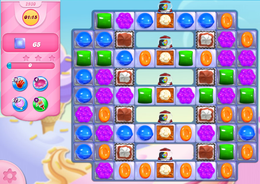 Candy Crush Saga level 2930