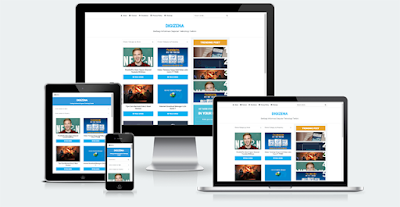 Freedownload Template Blogger Digizena Responsive - ElTheme