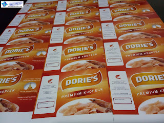 Satin Paper Label Stickers - Dorie's Premium Kropeck