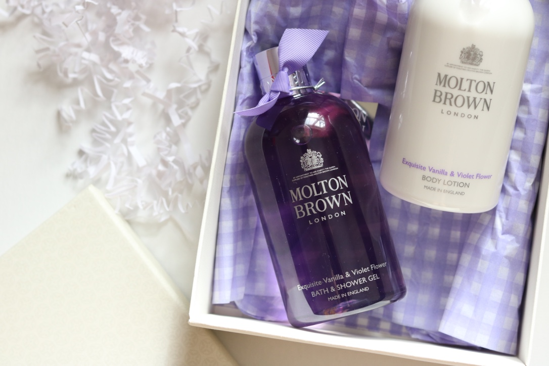 Molton Brown violet flower