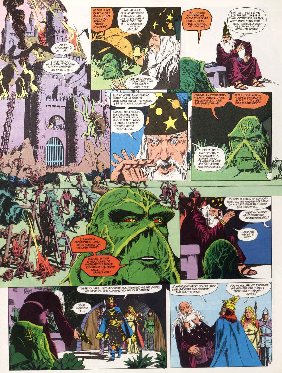 Swamp Thing (1982) Issue #87 #95 - English 6