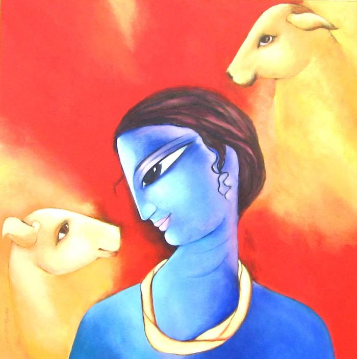 Sekhar Roy. Современный индийский художник 21
