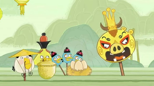 Angry Birds Year of the Dragon Animation