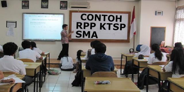Contoh RPP KTSP SMA Lengkap