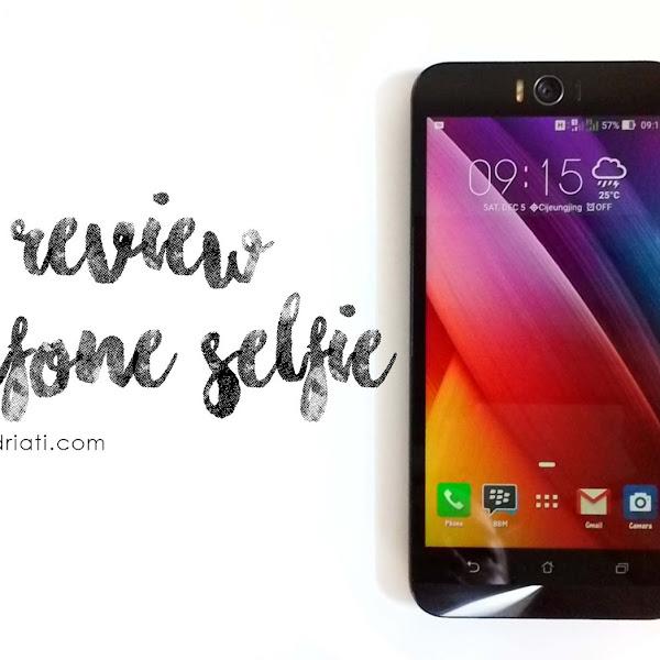 Review Asus Zenfone Selfie ZD551KL : The Art of Selfie!