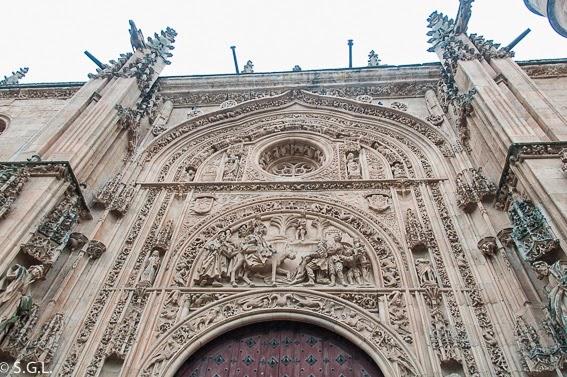 Puerta de Ramos de la catedral nueva de Salmanca