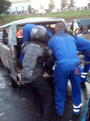 Horrific Accident Kills 11 Passengers and 3 Rescued in Lagos Auto Crash